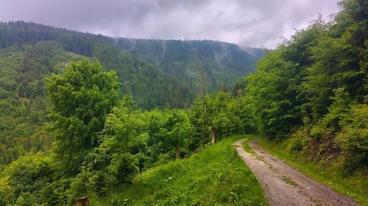 Pohľad do doliny Spády