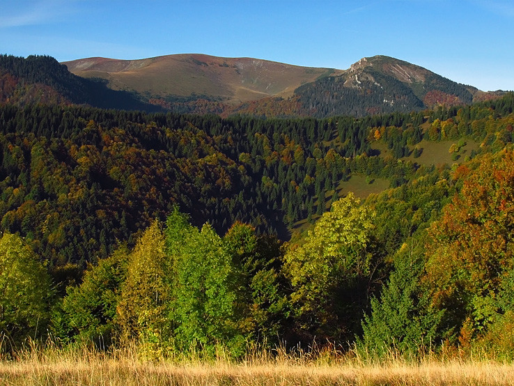 jeseň pod Suchým vrchom