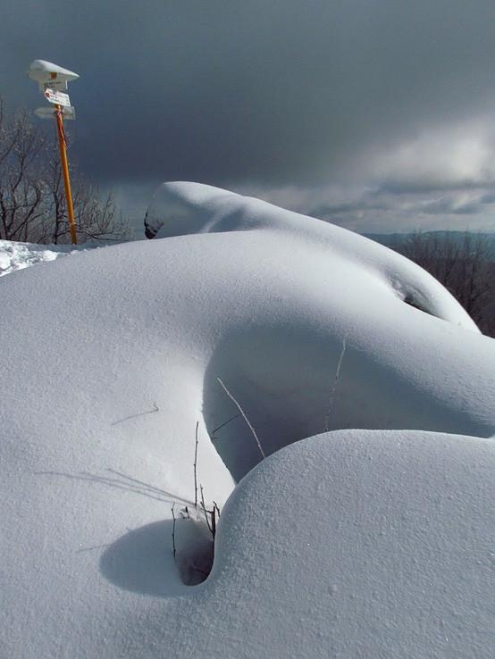 krásne snežný Veľký Inovec