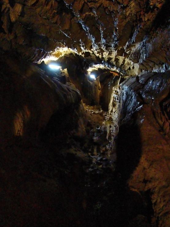 Jaskyňa mŕtvych netopierov - chodba