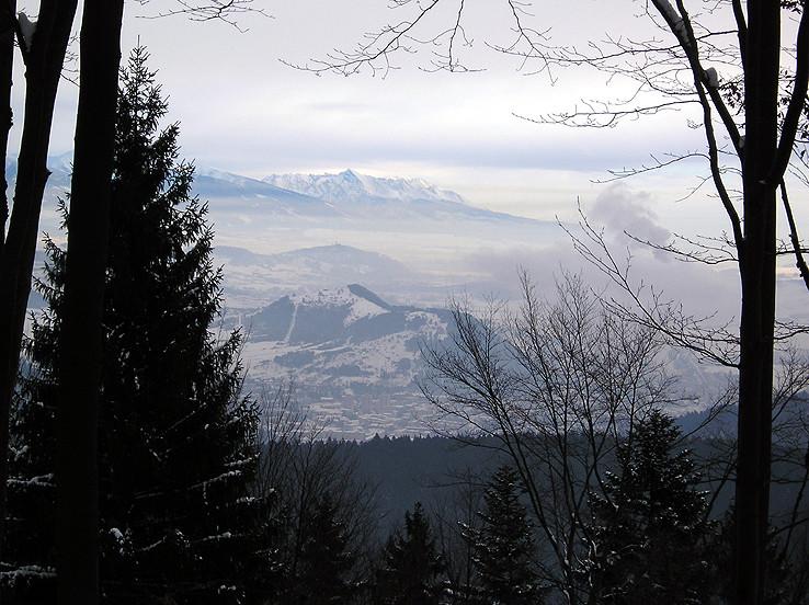 Orámované Vysoké Tatry