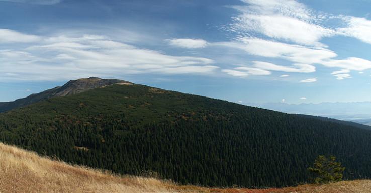 Babia Hora na jeseň