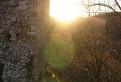 Západ slnka na Dobrovodskom hrade