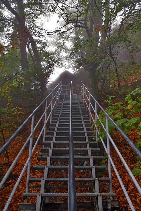 schody na vrchol Try Koruny