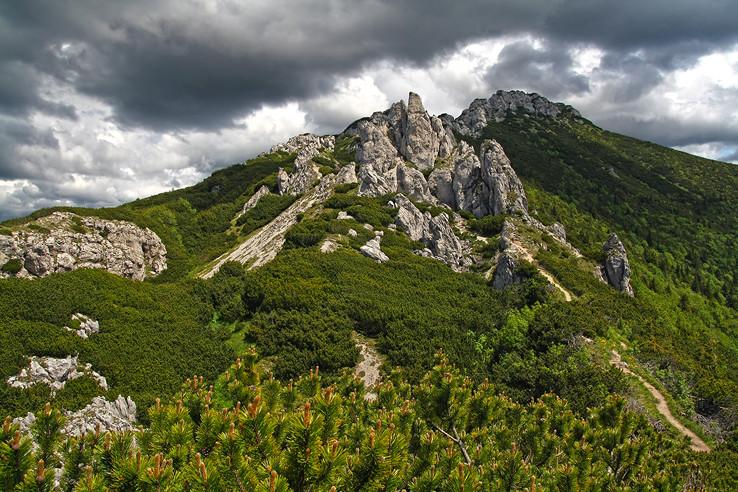 Sivý vrch a Radové skaly