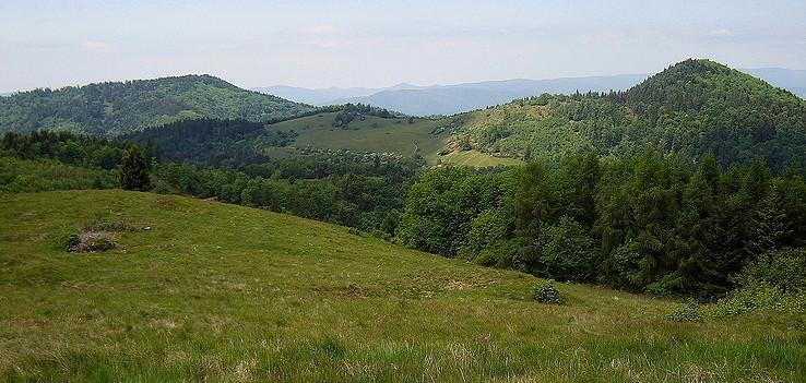 Banský vrch a Končiar