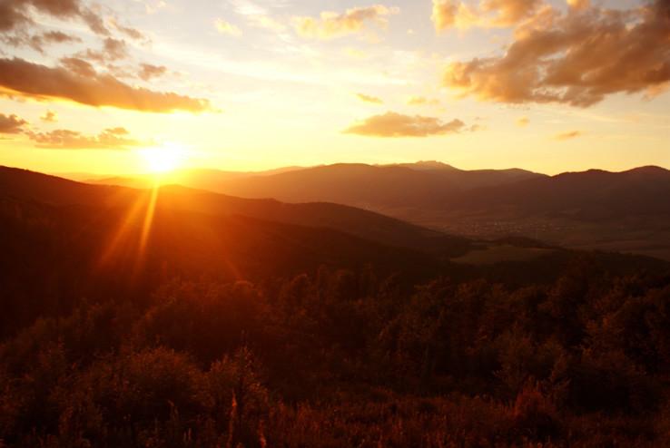 Pod Tatrami sa letný  deň končí