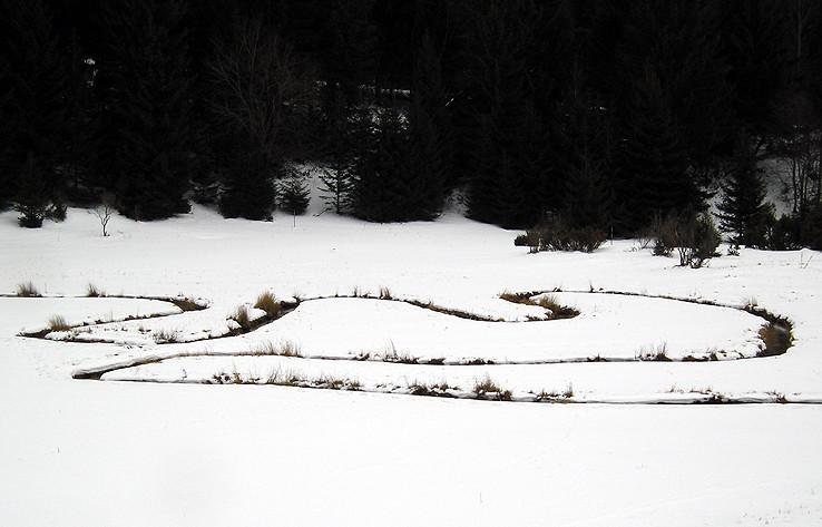 Meandre Lúžňanky v zime II.