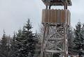 Ztracenec (Stratenec) 1055 m n.m-rozhledna