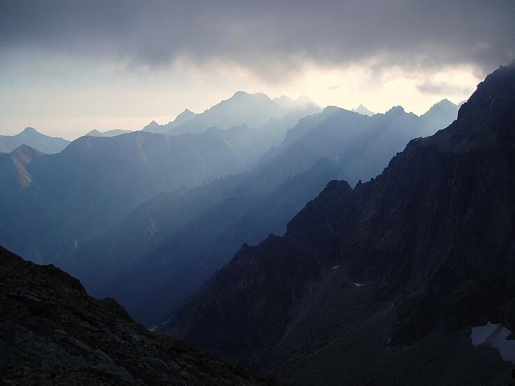 Sivomodré Tatry