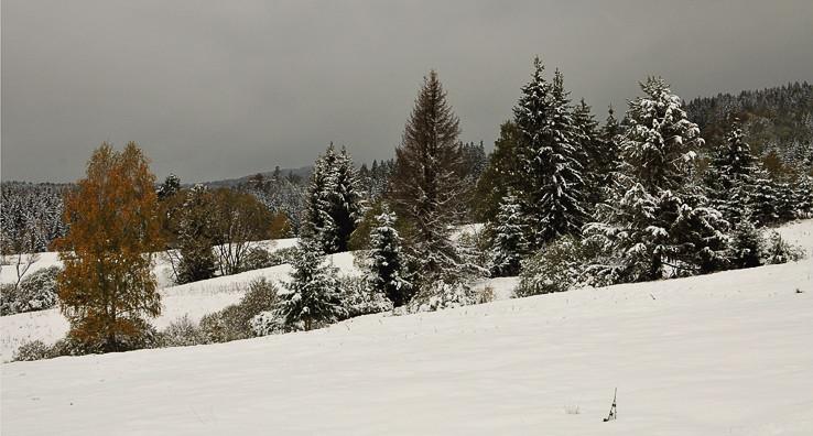 Zima na jeseň