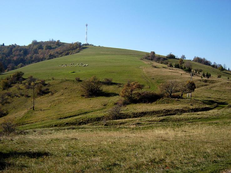 Jeseň pod Zlatým vrchom