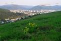 Humenné a okolie z Holého vrchu