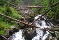 Pod roháčskym vodopádom