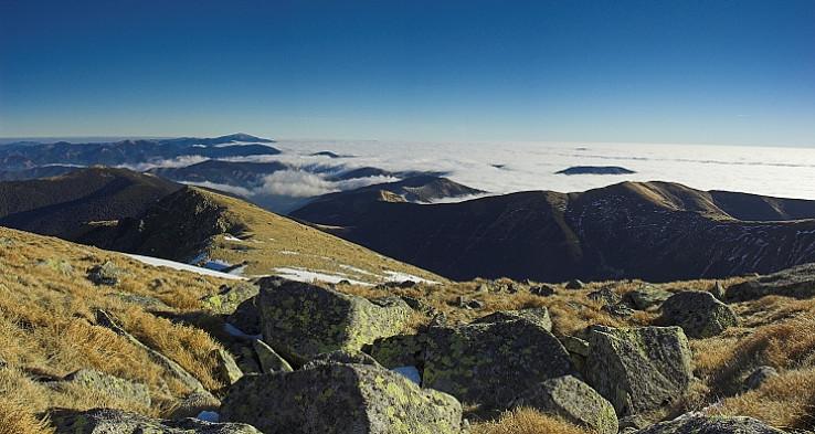 Kráľova hoľa - panorama