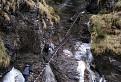 Slovenský raj-Misový vodopád