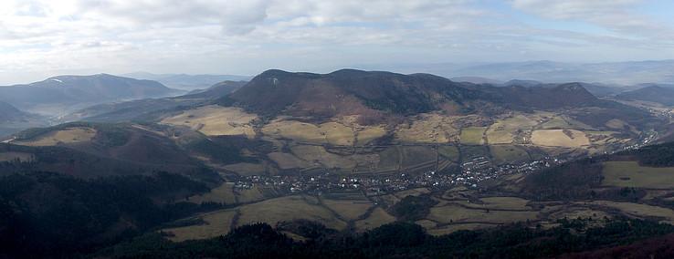 Dolina Hornej Poruby z Vápča