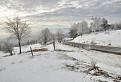 Zimná scénka zo Stredu Európy