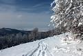 skitouringová stopa nad Turcom / 1.0385