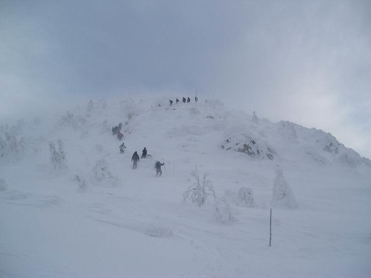 Zima na Veľkom Choči IV.