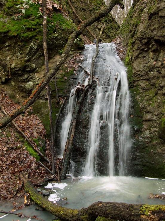 Vodopád na Tetrovom potoku
