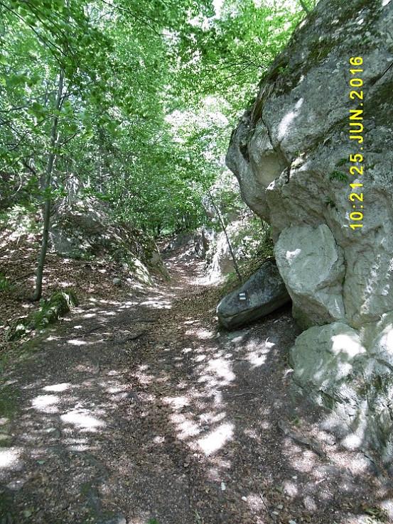 skalný útvar Vráta
