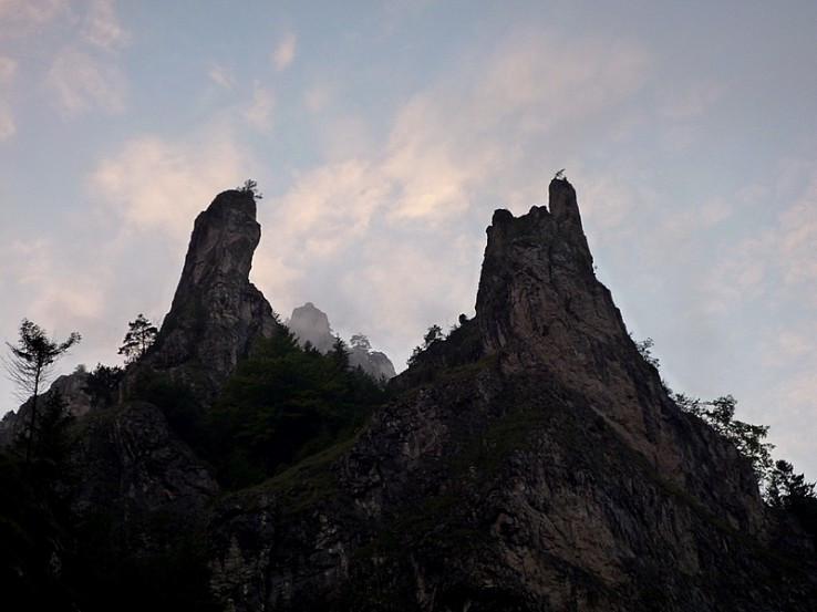 Skalné veže Tiesňav