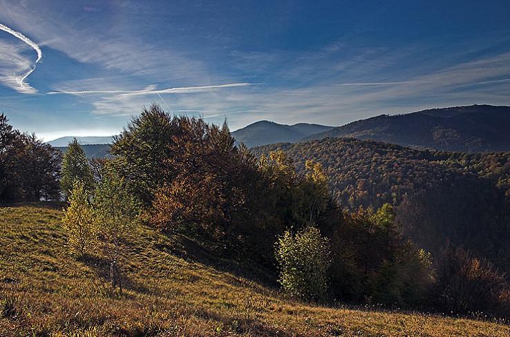 Jeseň na Folkmarskej skale