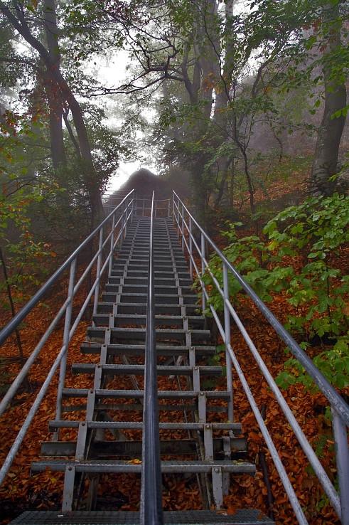 Schody k vrcholu