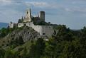 Chmáry nad Čachtickým hradom