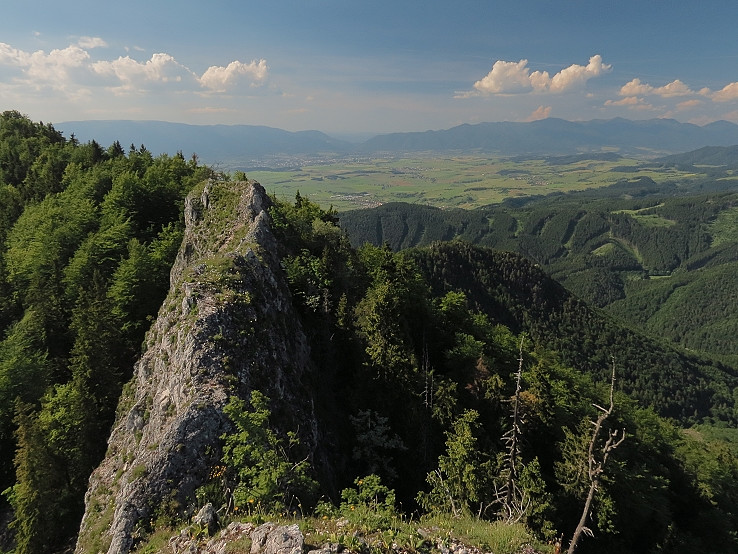 Pohľad z Kozej skaly