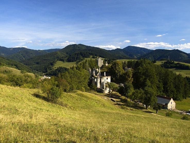 Sklabinské ruiny