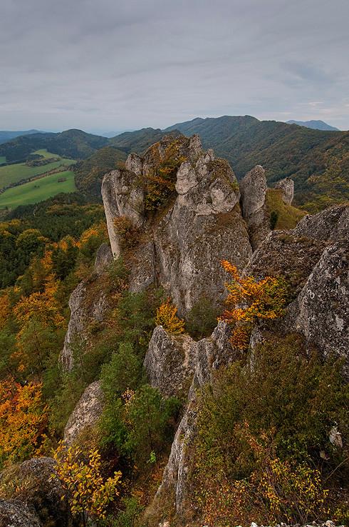 Zo Súľovského hradu