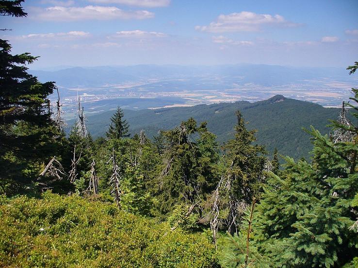 Pohľad z Vtáčnika (1346 m)