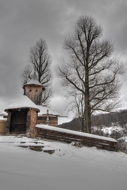 Zima pod Duklou