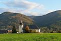 Kostol v horách.