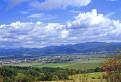Pohľad na Strážovské vrchy z Bielych Karpat,
