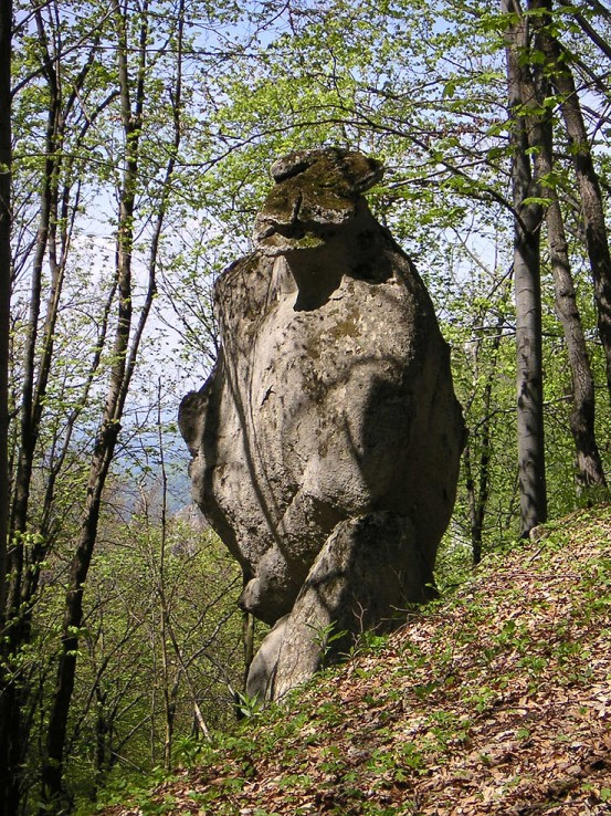 King-Kong (krátky oddych pri výstupe z doliny)