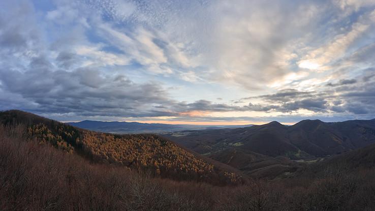 Nad Chocholnianskou dolinou