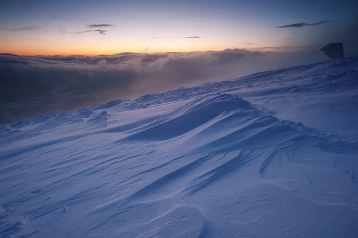 Farby zimného súmraku