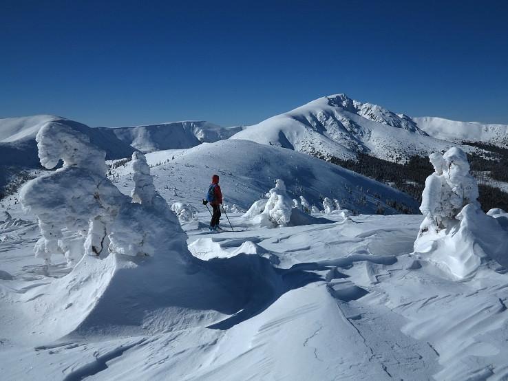 snežné sochy