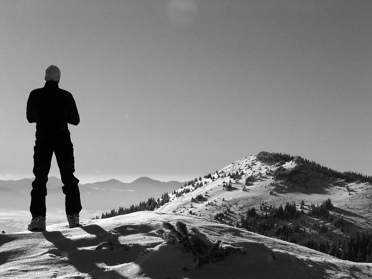 Človek na horách I