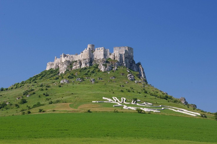 Geoglyf pod Spišským hradom