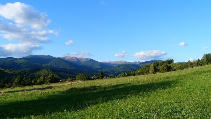 Nízke Tatry, už v jesennom šate.