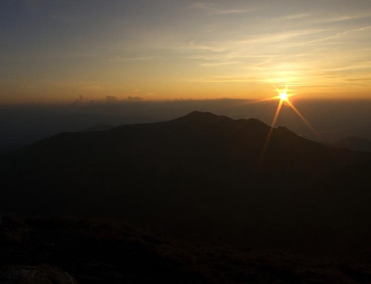 Veľkokrivánsky západ slnka