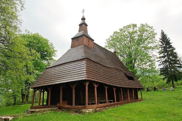 Kostolík v Topoli