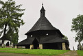 Drevený goticky kostol