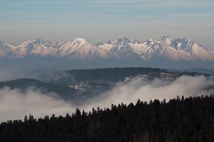 Vysoke Tatry zo Skaliska