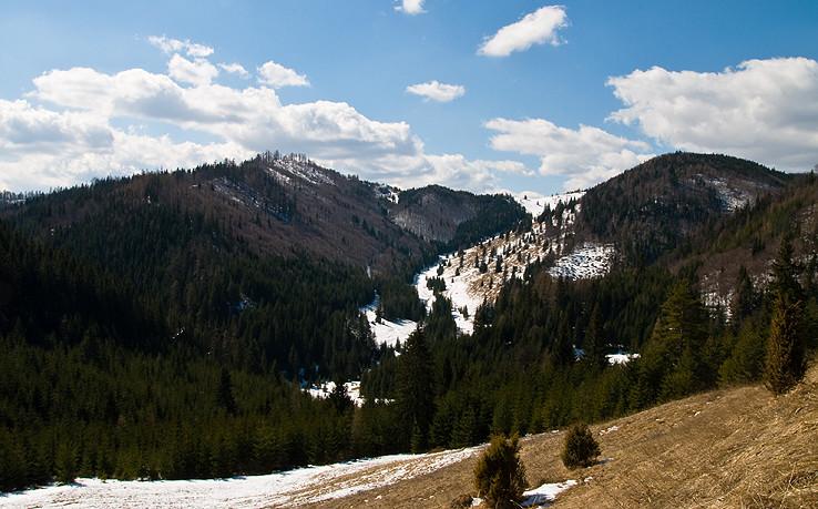 Nad Hansjakubovou dolinou.
