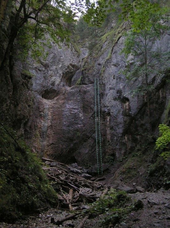 Tiesňava Piecky - Veľký vodopád